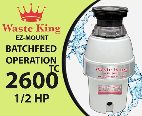 Waste King WKI – 2600TC