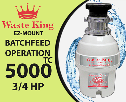 Waste King WKI – 5000TC