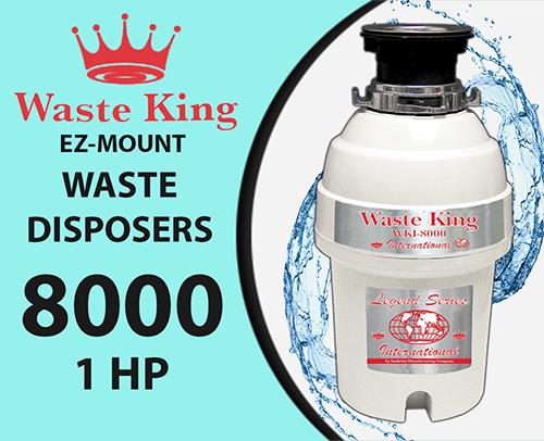 Waste King WKI – 8000