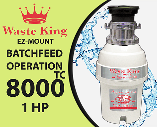 Waste King WKI – 8000TC Not in stock