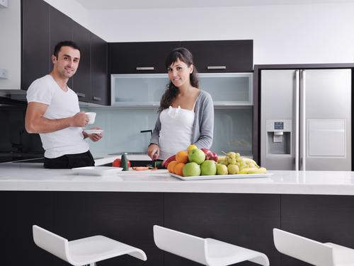 kitchen people using Waste King