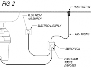Arrangement of air switch