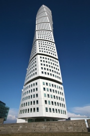 Majestic Turning Torso Building Has Food Waste Disposers In Every Appartment