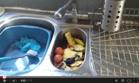 Video – Waste King Destoys Breakfast Waste in Seconds
