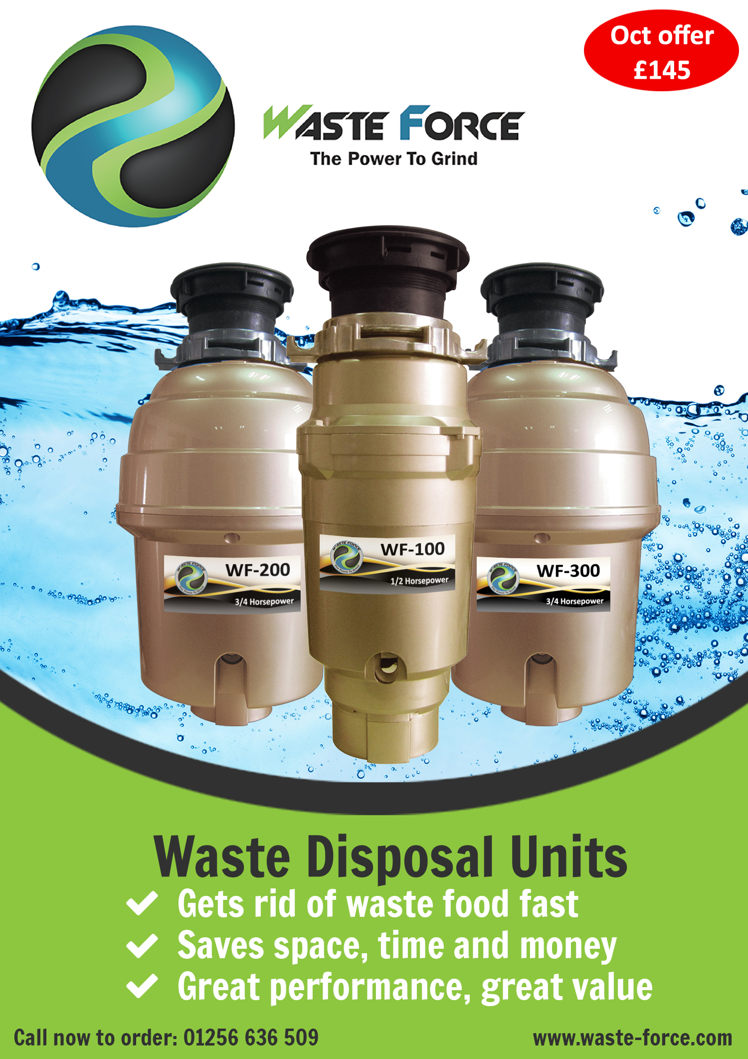 Waste Force Disposer Range Launched